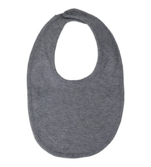 Grey Marl Bib by Hunter & Boo at Nurture Collective Ethical Baby Clothing