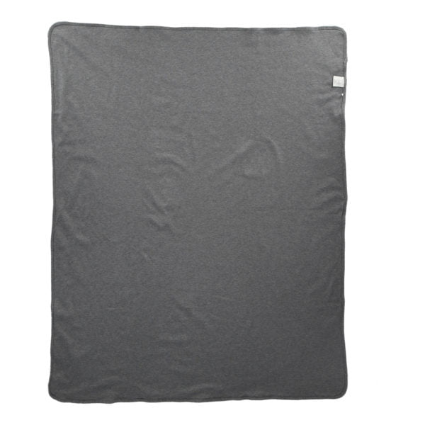 Grey Marl Blanket by Hunter Boo at Nurture Collective Ethical Baby Clothing