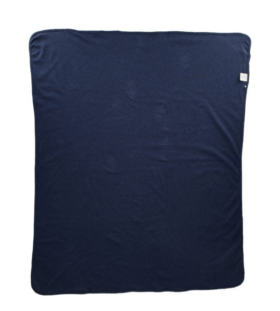 Navy Marl Blanket by Hunter Boo at Nurture Collective Ethical Baby Clothing