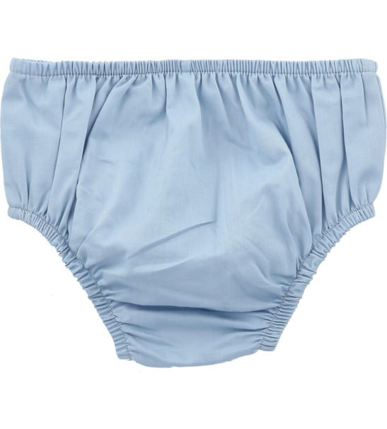 Chambray Bloomers by Hunter Boo at Nurture Collective Ethical Baby Clothing