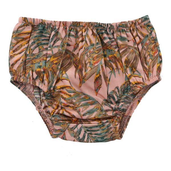 Palawan Nude Bloomers by Hunter Boo at Nurture Collective Ethical Baby Clothing