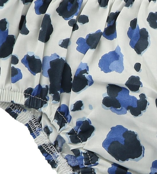 Yala Blue Bloomers by Hunter Boo at Nurture Collective Ethical Baby Clothing