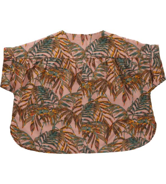 Palawan Nude Blouse by Hunter Boo at Nurture Collective Ethical Baby Clothing