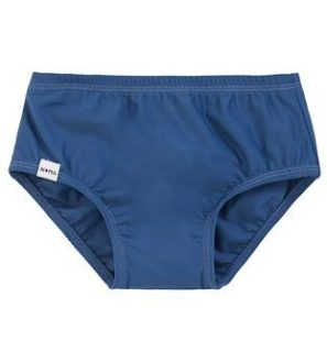 Blue Nappy Swim Cover by Noma Swimwear at Nurture Collective Ethical Baby Clothing