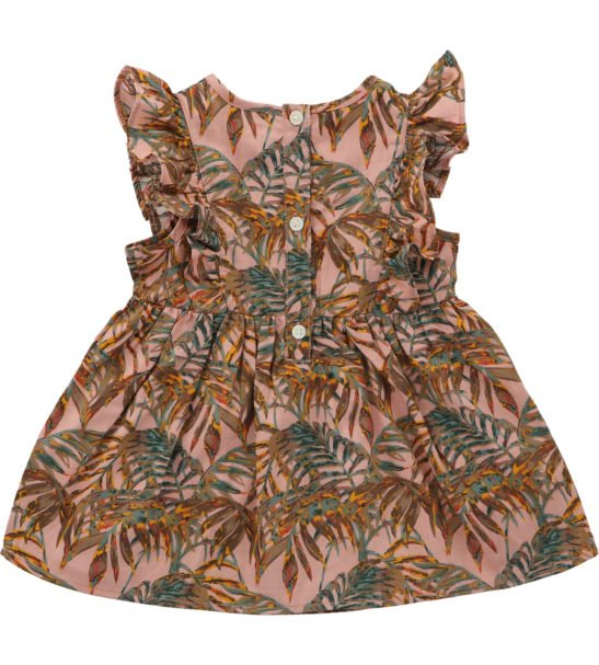 Frill Dress Palawan by Hunter Boo at Nurture Collective Ethical Baby Clothing