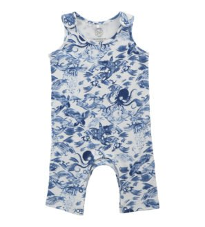 Kaiyo Jumpsuit by Hunter Boo at Nurture Collective Ethical Baby Clothing