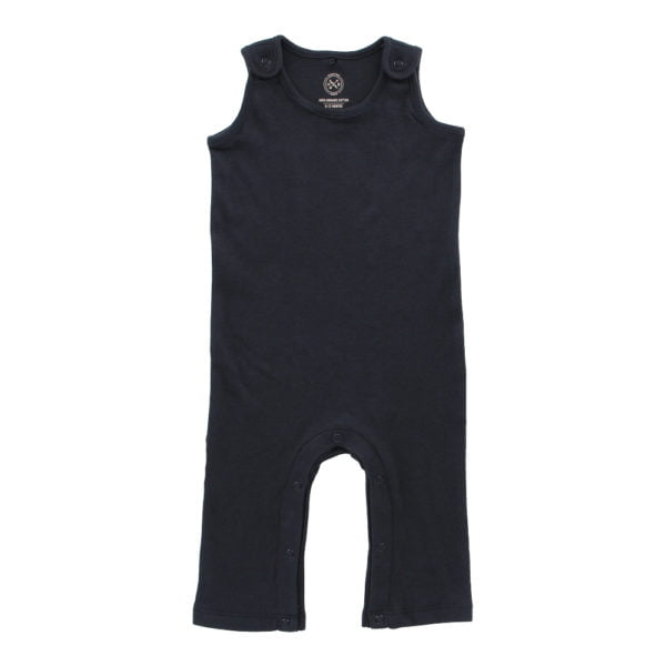 Soft Black Jumpsuit by Hunter Boo at Nurture Collective Ethical Baby Clothing