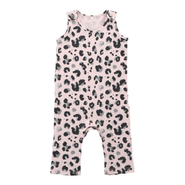 Yala Pink Jumpsuit by Hunter Boo at Nurture Collective Ethical Baby Clothing