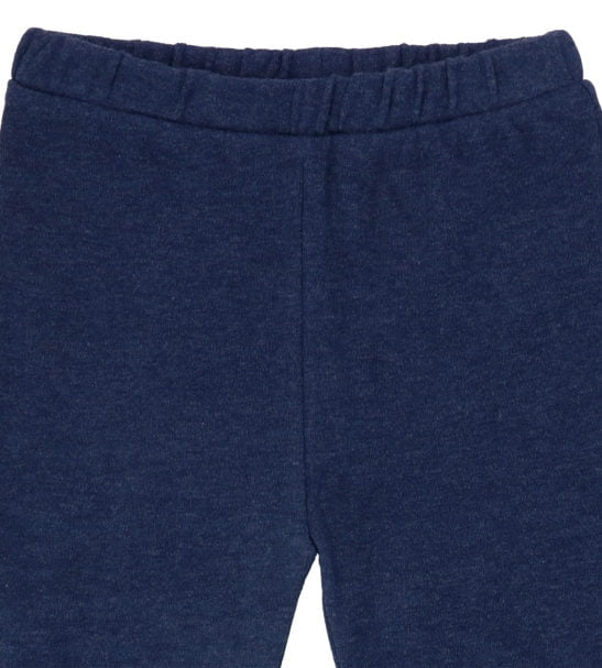Hunter & Boo Leggings Navy Marl at Nurture Collective Ethical Baby