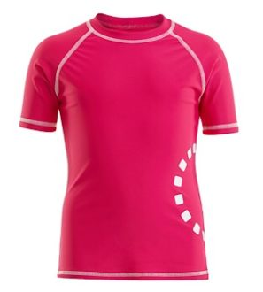 Magenta Short Sleeved Rash Top by Noma Swimwear at Nurture Collective Ethical Baby Clothing