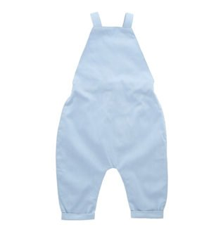 Hunter & Boo Overalls - Chambray at Nurture Collective Ethical Baby