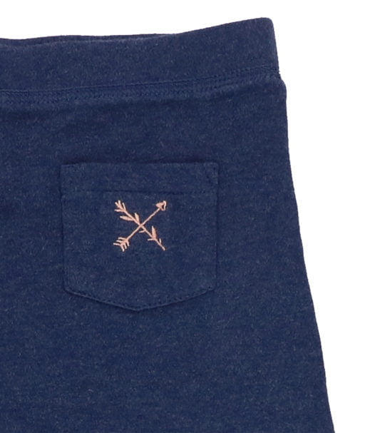 Hunter & Boo Reverse Jogger Palawan/Navy at Nurture Collective Ethical Baby