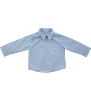 Hunter & Boo Shirt - Chambray at Nurture Collective Ethical Baby