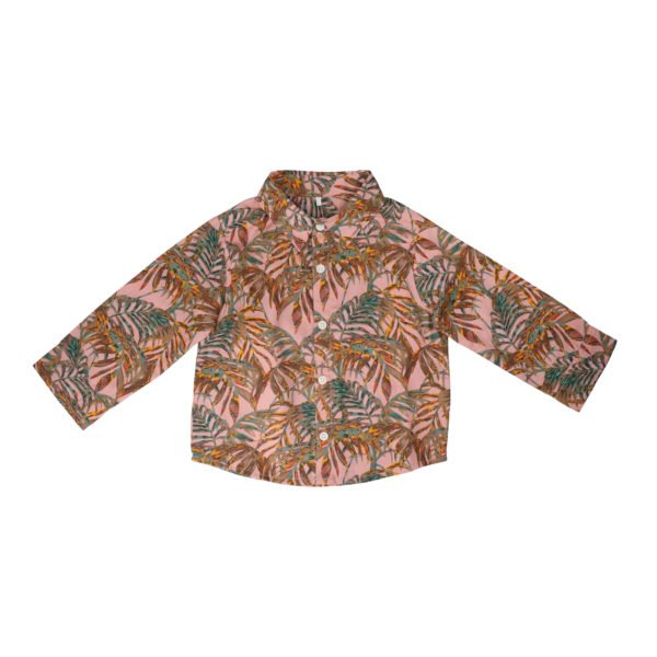 Hunter & Boo Shirt - Palawan at Nurture Collective Ethical Baby