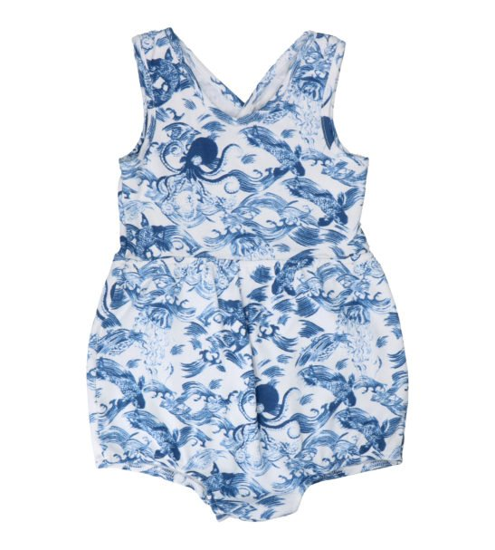 Kaiyo Short Romper by Hunter & Boo at Nurture Collective Ethical Baby Clothing