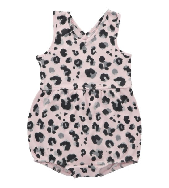 Yala Pink Short Romper by Hunter & Boo at Nurture Collective Ethical Baby Clothing