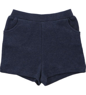 Hunter & Boo Shorts Blue Marl at Nurture Collective Ethical Baby