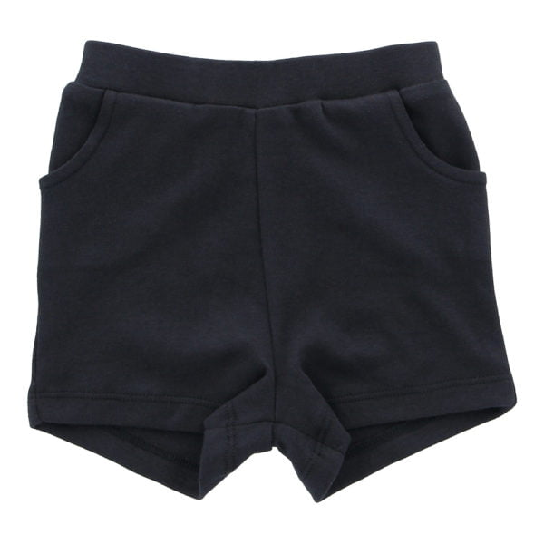 Hunter & Boo Shorts Soft Black at Nurture Collective Ethical Baby