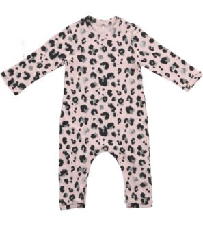 Yala Pink Sleepsuit by Hunter & Boo at Nurture Collective