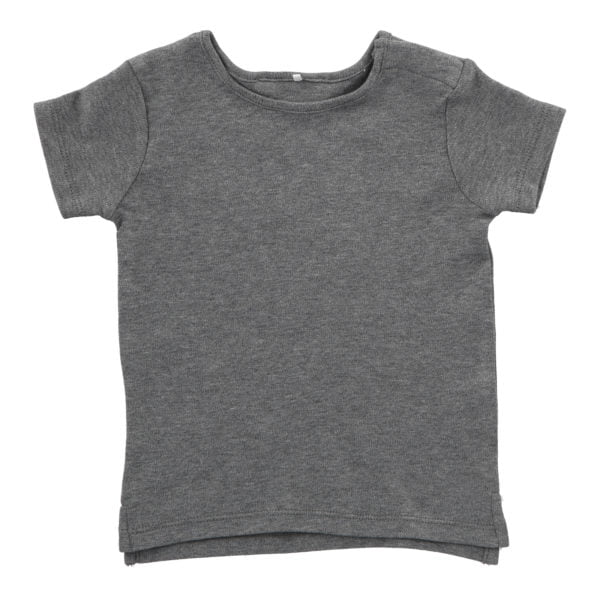Hunter & Boo T-Shirt Grey Marl at Nurture Collective Ethical Baby