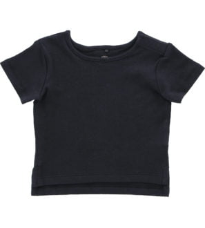 Hunter & Boo T-Shirt -Soft Black at Nurture Collective Ethical Baby