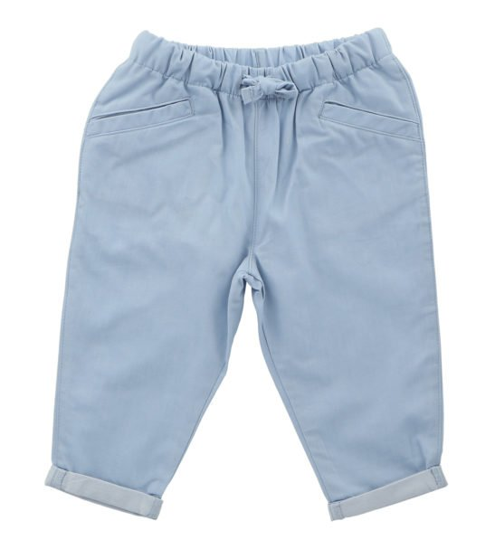 Hunter & Boo Trousers - Chambray at Nurture Collective Ethical Baby