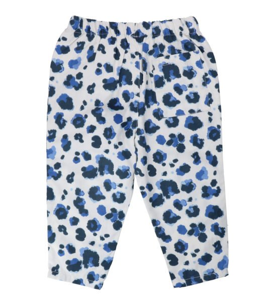 Hunter & Boo Trousers - Yala Blue at Nurture Collective Ethical Baby