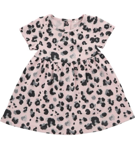 Hunter & Boo T-Shirt Dress Yala Pink at Nurture Collective Ethical Baby