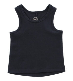 Hunter & Boo Vest Soft Black at Nurture Collective Ethical Baby