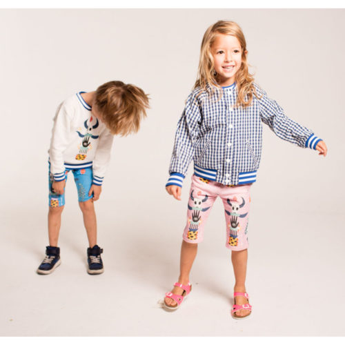 Gingham Bomber Jacket by Totem Kids at Nurture Collective Ethical Baby Clothing