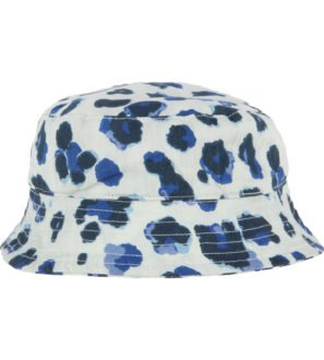 Hunter & Boo Sun Hat in Yala Blue Print at Nurture Collective Ethical Clothingb