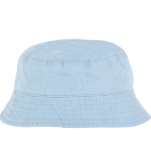 Hunter & Boo Sun Hat in Chambray Blue Print at Nurture Collective Ethical Clothing