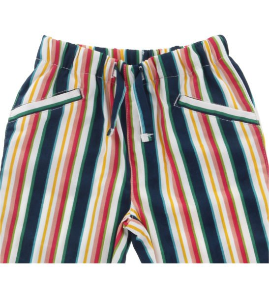 Hunter & Boo Trousers in Helter Skelter Print at Nurture Collective Ethical Clothing