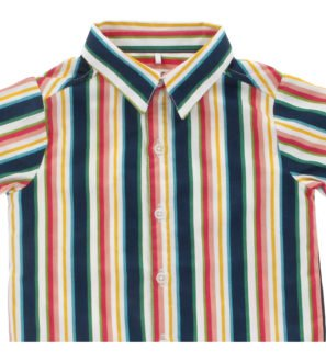 Hunter & Boo Shirt Helter Skelter Print at Nurture Collective Ethical Clothing