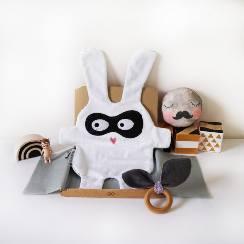 White Bandit Doudoods Comforter at Nurture Collective Ethical Baby