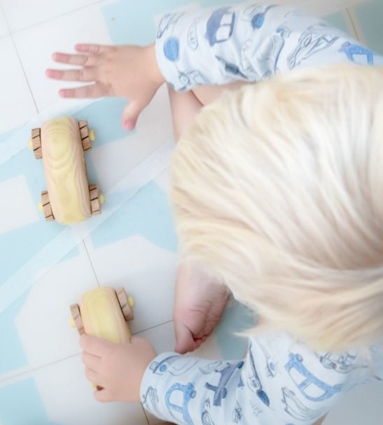 Children's Natural Wooden Crafty Cars Eco-Friendly Toys by Love Heart Wood at Nurture Collective