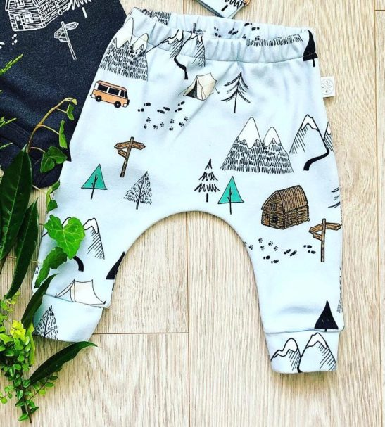 Adventure Pants by Little Drop in the Ocean at Nurture Collective