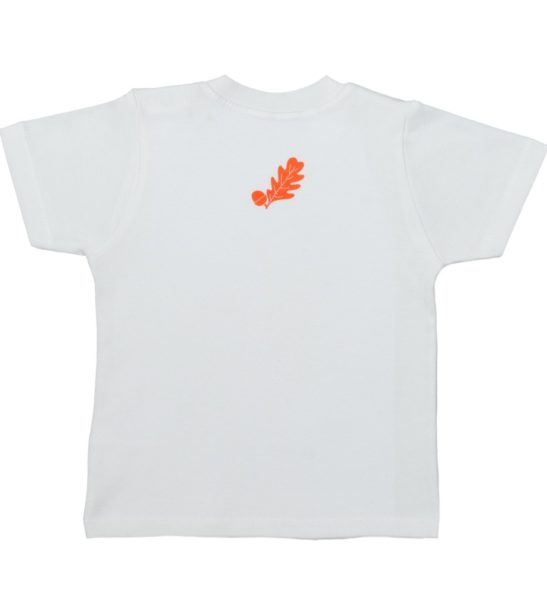 Back Design of the Fox Short Sleeved T-Shirt by Tommy & Lottie at Nurture Collective