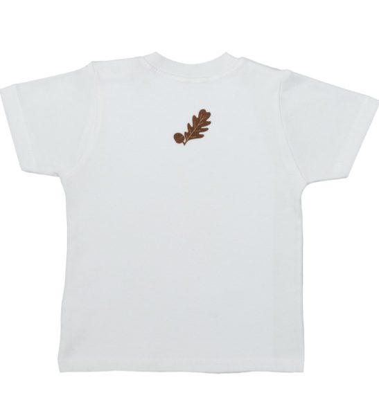 Back Design of the Hedgehog Short Sleeved T-Shirt by Tommy & Lottie at Nurture Collective