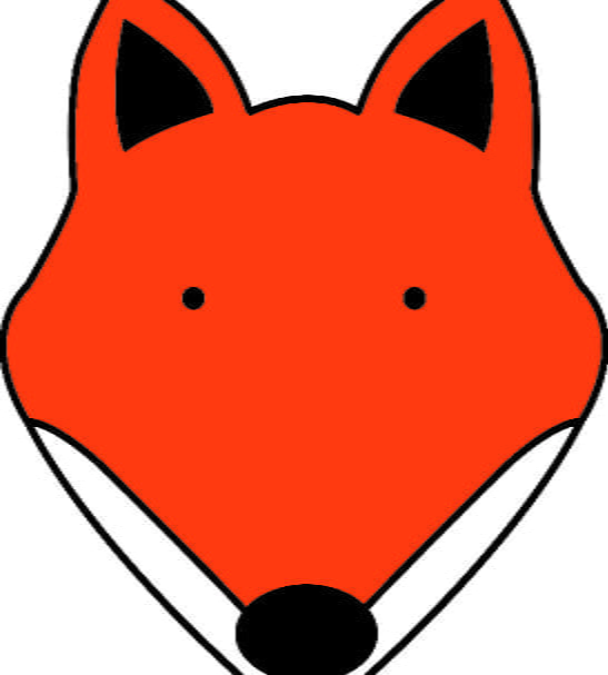 Close up of the Fox Design T-Shirt by Tommy & Lottie at Nurture Collective