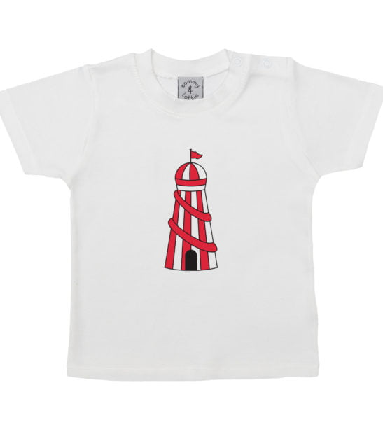 Helter Skelter Short Sleeved T-Shirt by Tommy & Lottie at Nurture Collective