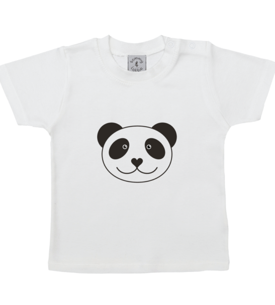 Panda Short Sleeved T-Shirt by Tommy & Lottie at Nurture Collective