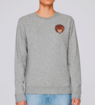 Adult Hedgehog Sweatshirt by Tommy & Lottie at Nurture Collective