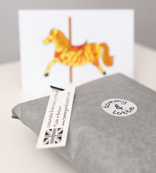 Carousel Horse T-Shirt & Harems Packaged Gift Set by Tommy & Lottie at Nurture Collective