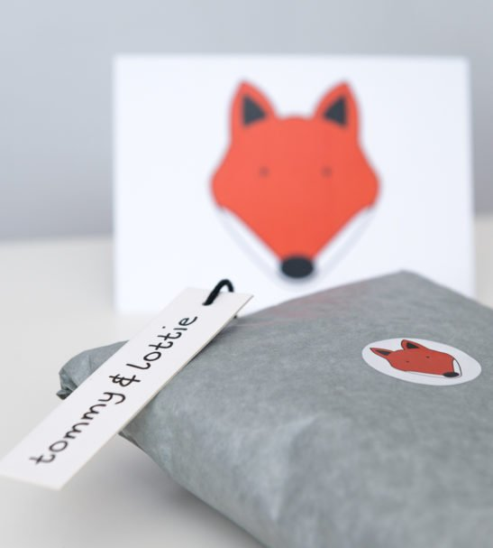 Fox T-Shirt & Harems Packaged Gift Set by Tommy & Lottie at Nurture Collective