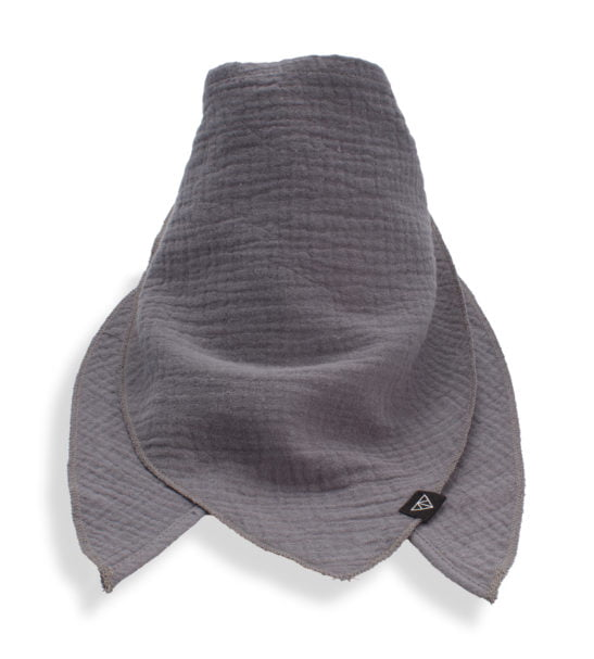 Ponchlin Grey scarf available at Nurture Collective