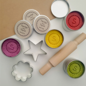Squidge & Squish Eco Play Dough at Nurture Collective