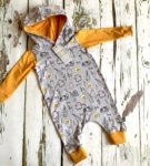 Pull-on Breakfast Romper by Maebelle & Bo at Nurture Collective