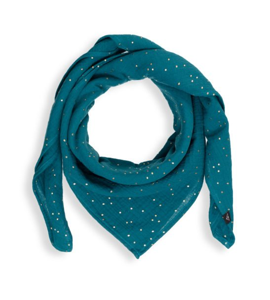 Mamas Scarf Ponchlin Sea Green scarf available at Nurture Collective