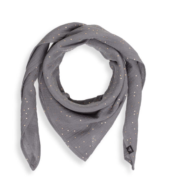 Mamas Scarf Ponchlin Gray scarf available at Nurture Collective